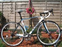 CUBE Agree GTC Race Carbon Road Bike. 56cm. Ultegra. 7,8 kg. 20 speed. RRP £1800. Great condition