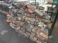 Reclaimed bricks - free to collect in any numbers
