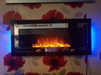 Next electric wall mounted fire