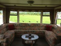 2 bedroom static caravan for sale on a stunning country park mid wales, 35ft x 12ft 6 berth lovely