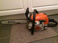 Stihl MS181c chainsaw