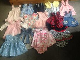 Baby girls clothing bundle OPEN TO OFFERS