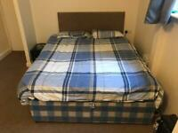 Reduced to go this Friday- Double Bed w good mattress