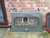 Series Landrover 2 2a 3 cat flap tailgate