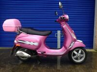 2010 PIAGGIO VESPA LX50 AUTOMATIC SCOOTER , 9 MONTHS MOT VERY LOW MILES ,GREAT CONDITION PX WELCOME