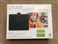 Wacom Intuos Pen and Touch Graphic Tablet
