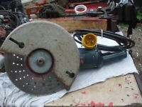 (B5) (110V) BOSCH GWS24-300 CONCRETE/STEEL CUTTING MACHINE
