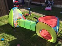 Ball pit/ tent and tunnel