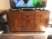 Sheesham Wood Sideboard/TV Cabinet