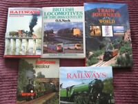 Collection of books on Railways.