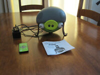 Gear4 Angry Birds Helmet Pig Docking 2.1 Stereo Speaker, Docking Station for iPod, iPhone, MP3 etc.