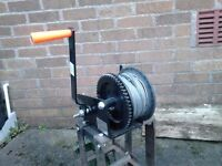 Winch, for trailer hand operated