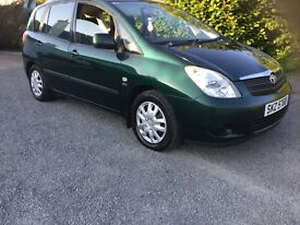Toyota verso d4d diesel 2003 driving very well no faults 16000 miles mot sept 2017 cookstown