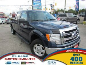 2014 Ford F-150 XLT | SUPERCREW | 4X4 | SAT RADIO | BLUETOOTH