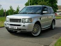 """Range Rover Sport 22""""alloys+Xenon+Twin exhaust+hpi clear+Tinted"""