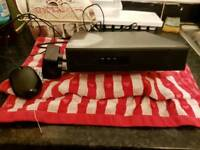 Sentinent 500GB 720p 8 channel Dvr with mouse and power supply