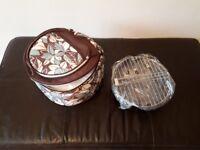 Portable Picnic BBQ with cool bag.