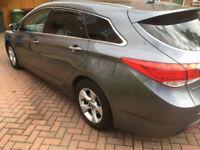 2012 HYUNDAI I40 PREMIUM BLUE DRIVE 1.7 /136 BHP/ CRDI DIESEL ESTATE SERVICE HISTORY-PANORAMICROOF