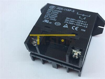 1pcs Jqx-116f-3-240af-1ht555 Power Relay 30a 240vac