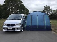 Kyham Classic motordome driveaway awning and annexe extension