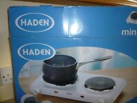HADEN MINI ELECTRIC HOB NEW