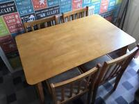 Dining table with 4 chairs - cheap