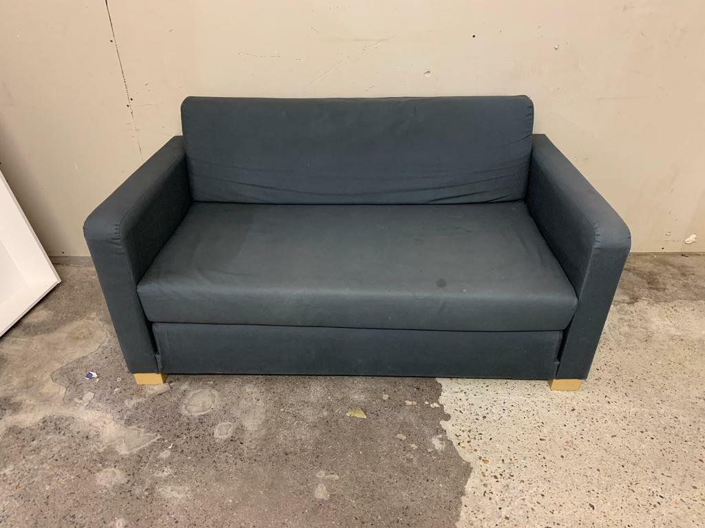 Miraculous Free Delivery Ikea Solsta Ullvi Grey Blue 2 Seater Sofa Bed In Westminster London Gumtree Gmtry Best Dining Table And Chair Ideas Images Gmtryco
