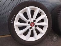 "Citroen C4-Coupe (2004-2011) 17"" Single Alloy Spare Wheel 205/50 R17 ref.MM25/2"