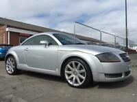 2003 AUDI TT QUATTRO 1.8 COUPE *SERVICE HISTORY* CAMBELT REPLACED *HEATED SEATS LEATHER SEATS*