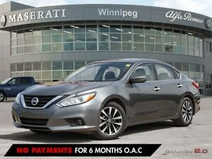 2017 Nissan Altima 2.5 SV: With Remote Start & Rear View Camera!