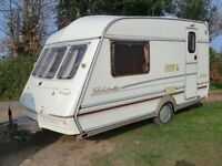 ABI Globetrotter light wieght 2 Berth touring caravan 1998