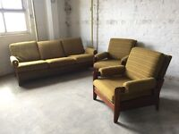 Retro 1970's Suite with sofa bed.