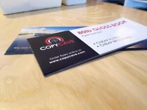 *** CHEAP FLYER PRINTING ***  Canada's BEST rates for full colour flyer printing, guaranteed!