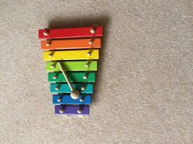 Child's wooden Xylophone