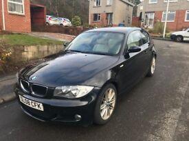 URGENT BMW1 series Msport Black