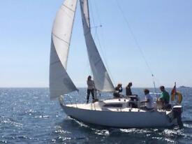 Sailing yacht boat - 22ft Copland fox terrier