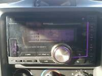 Kenwood dual din car radio