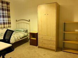 Furnished Single Bedroom To Let - Live In Landlord. Private Shower & All Bills Included