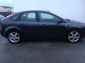 Ford Focus Zetec Climate 1.8 Petrol Sea Grey