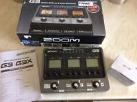 Zoom G3 Multi Effects Pedal - BARGAIN!!!