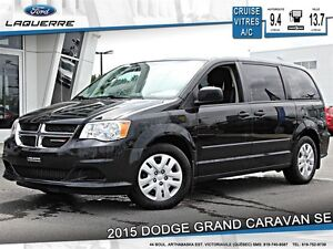 2015 Dodge Grand Caravan **SE*7 PASSAGERS*A/C 2 ZONES*CRUISE**