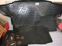Nissan juke mats, boot liner and cubby styling