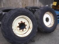 Manitou Wheels & Tyres 17.5 R 24