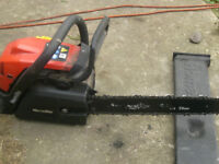 For sale homelite 14 inch bar chainsaw