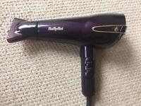 BaByliss hairdryer