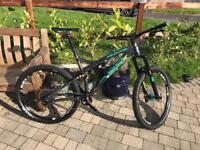 Whyte G150 SCS mountain all trail enduro bike, size large