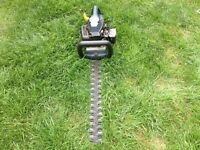 Performance power petrol hedge cutter. In good working order.