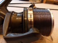 Shimano Big bait Runner Long Cast Reel in good condition. Bereavement forces sale