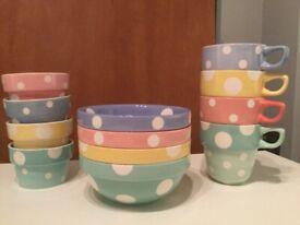 M&S stacking mugs and bowls