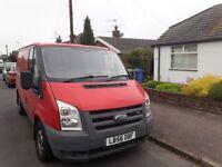 Faversham based man in van services. Handy Vandy.